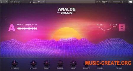 Native Instruments Analog Dreams (KONTAKT) - гибридный аналого-цифровой инструмент