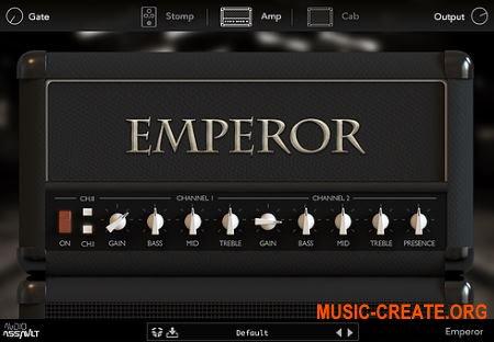 Audio Assault Emperor v1.2 WiN-OSX RETAiL (SYNTHiC4TE) - гитарный усилитель