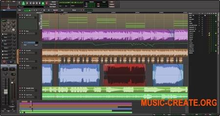 Harrison Mixbus v5.0.255 (Team R2R) - аудио редактор