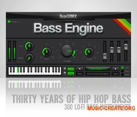 DopeSONIX Bass Engine v1.3 WiN-OSX RETAiL (SYNTHiC4TE) - бас-синтезатор