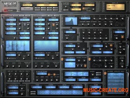 Tone2 Gladiator v3.0 WiN x86 x64 - синтезатор