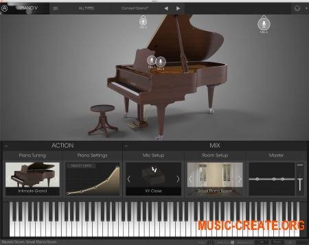 Arturia Piano V2 v2.1.1.1786 CSE (Team V.R) - виртуальное фортепиано
