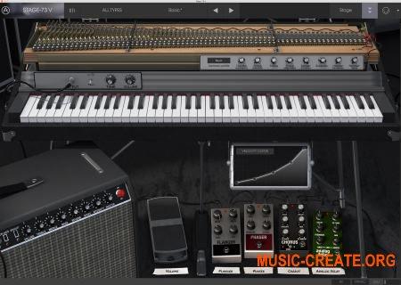 Arturia Stage-73 V v1.3.1.1782 CSE (Team V.R) - электрическое пианино