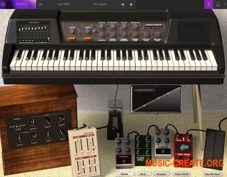 Arturia Wurli V2 v2.3.1.1782 CSE (Team V.R) - классическое электрического пианино