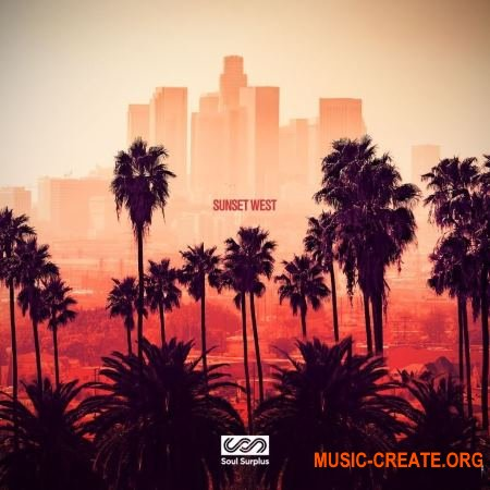 Soul Surplus Sunset West (WAV) - сэмплы West Coast, Hip Hop