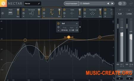 iZotope Nectar 3 v3.00 (Team R2R) - вокальный эффект
