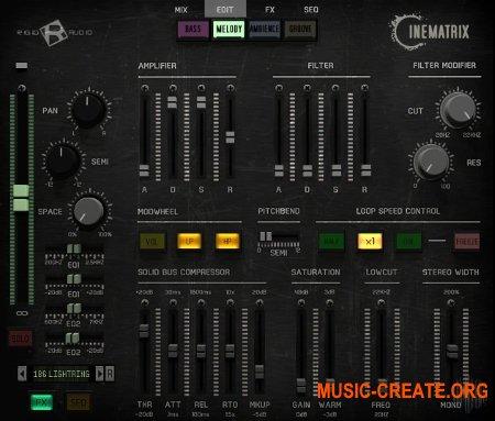 Rigid Audio Cinematrix (KONTAKT) - кинематографические сэмплы