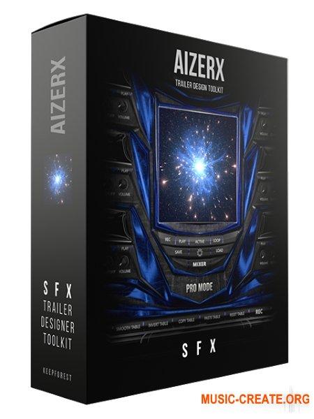 Keepforest AizerX Trailer SFX Designer Toolkit (KONTAKT) - звуковые эффекты