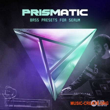 Black Octopus Sound Prismatic (WAV SERUM) - сэмплы Bass, Dubstep, Trap