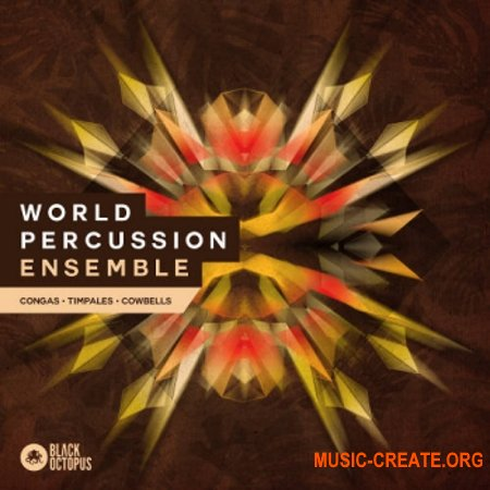 Black Octopus Sound World Percussion Ensemble (WAV) - сэмплы перкуссии