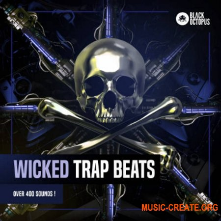Black Octopus Sound Wicked Trap Beats (WAV SERUM) - сэмплы Trap