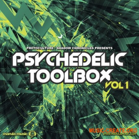 Black Octopus Sound Psychedelic Toolbox Volume 1 (WAV SERUM) - сэмплы Trance