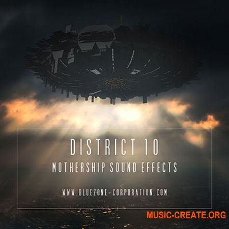 Bluezone Corporation District 10 Mothership Sound Effects (WAV) - звуковые эффекты