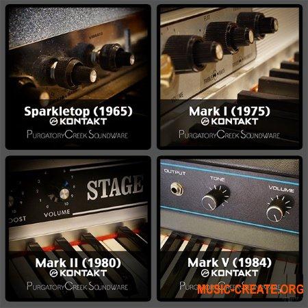 Purgatory Creek Soundware Tine Collection (KONTAKT) - библиотека электро-механических пианино