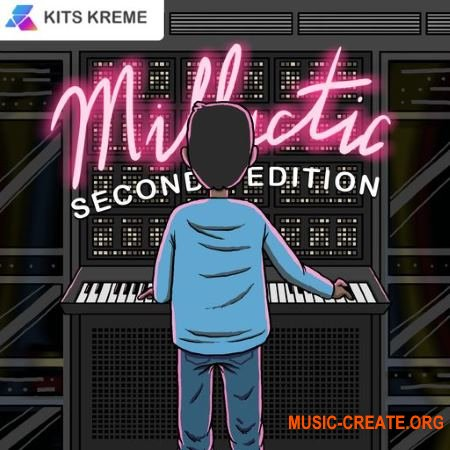 Kits Kreme Millactic Vol. 2 Retro Analog Sounds (WAV) - синтезаторные сэмплы, Hip Hop