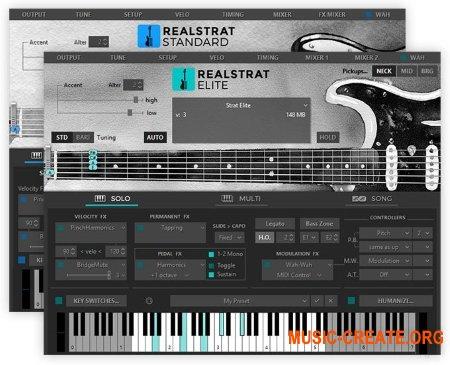 MusicLab RealStrat v5.0.2.7424 (Team R2R) - виртуальная гитара