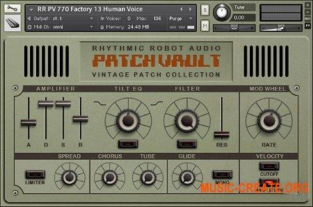 Rhythmic Robot Audio PatchVault 770