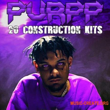 The Drum Bank Purpp (WAV MiDi) - сэмплы Hip Hop, Rap