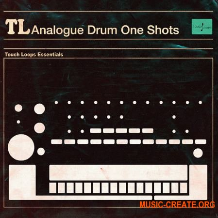 Touch Loops Analogue Drum One Shots (WAV MIDI) - драм ван-шоты