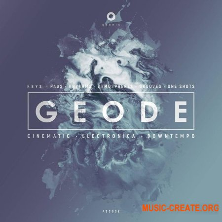 Asonic Geode (WAV) - сэмплы Ambient, Downtempo