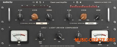 Audiority LDC2-Compander v1.0.0 WiN OSX (Team R2R) - плагин компрессор