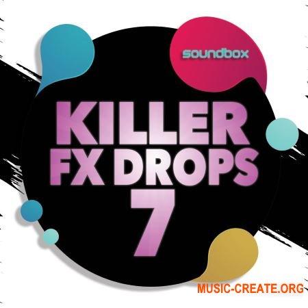 Soundbox Killer Fx Drops 7 (WAV) - звуковые эффекты