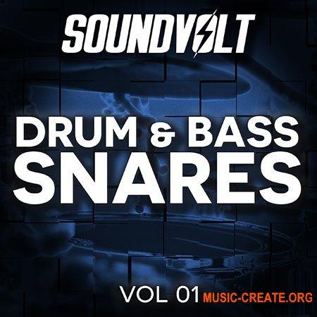Soundvolt Drum and Bass Snares Vol 1 (WAV) - сэмплы Drum and Bass