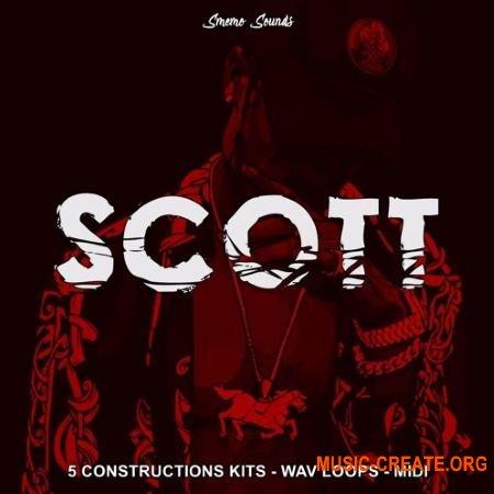 Smemo Sounds SCOTT (WAV) - сэмплы Rap, Hip Hop, Trap, Trap Soul