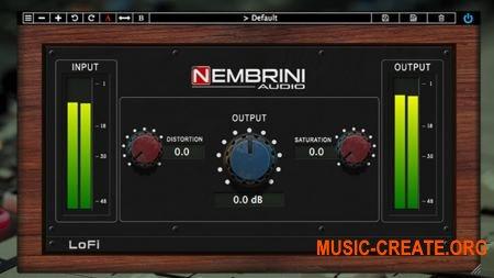 Nembrini Audio LoFi Vintage Clipper v1.0.4 (Team R2R) - плагин сатурации
