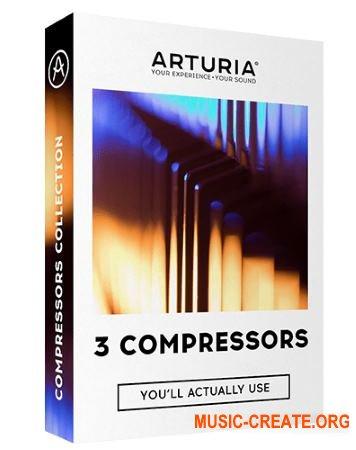 Arturia 3 Compressors v1.0.0 (Team R2R) - 3 плагина компрессии
