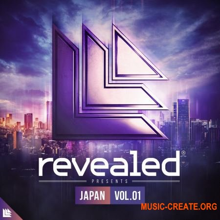 Revealed Recordings Revealed Chiptune JAPAN VOL.1 BONUS (WAV Sylenth1) - сэмплы EDM, Electro / Progressive House,
