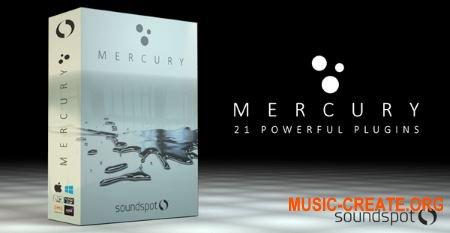 SoundSpot Mercury Bundle 2019.6 CE (Team V.R) - сборка плагинов