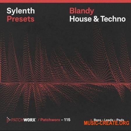 Loopmasters Patchworx 115 Blandy House and Techno Sylenth Presets (WAV MIDI FXB) - сэмплы House, Techno
