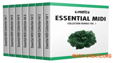 Cymatics Essential MIDI Collection Bundle (MiDi)
