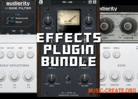 Audiority Effects Plugin Bundle 2019.7 CE (Team V.R) - сборка плагинов