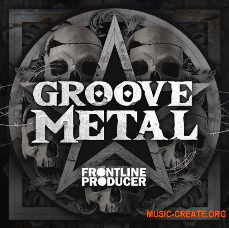 Frontline Producer Groove Metal (WAV REX) - сэмплы Metal