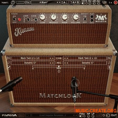 Kuassa Amplification Matchlock v1.0.1 WIN OSX (Team R2R) - гитарный усилитель
