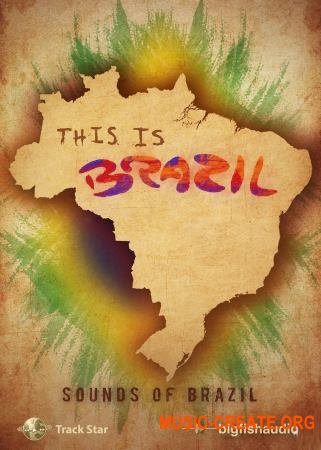 Big Fish Audio This Is Brazil (WAV) - звуки бразильской музыки