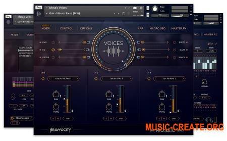 Heavyocity Mosaic Voices UPDATED (KONTAKT) - вокальная библиотека