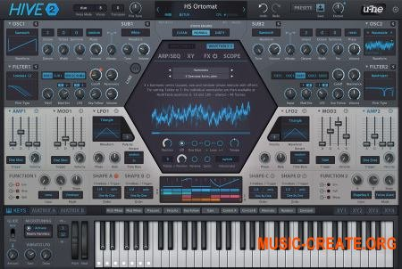 u-he Hive v2.0.0.8676 CE (Team V.R) - синтезатор