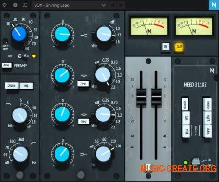 NoiseAsh Need 31102 Console EQ v1.0 WiN OSX (Team R2R) - имитатор эквалайзера