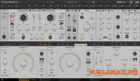 Native Instruments Massive X v1.0.0 CE (Team V.R) - синтезатор