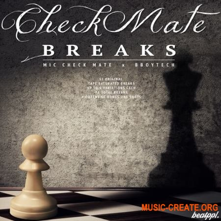 BeatPPL Checkmate Breaks (WAV) - сэмплы Breaks