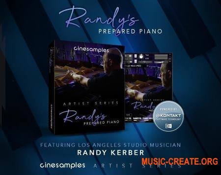 Cinesamples Randy's Prepared Piano (KONTAKT) - библиотека фортепиано