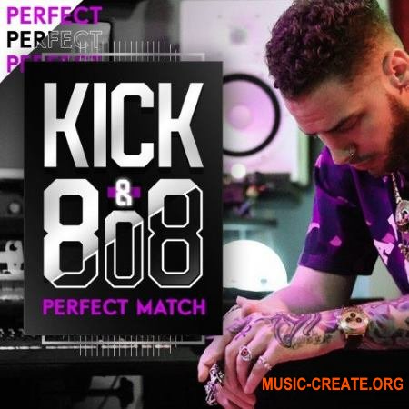 IndustryKits The Perfect Match Kick and 808 Pack (WAV) - драм сэмплы