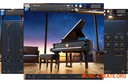 Wavesfactory Mercury Lite v1.0.1 (KONTAKT) + Mercury FX VST AU AAX