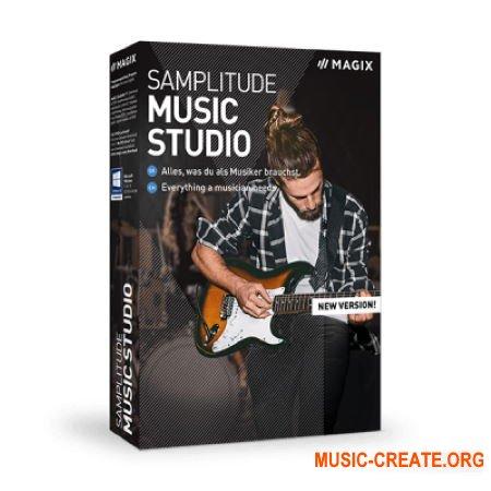 MAGIX Samplitude Music Studio 2020 v25.0.0.32 (TEAM P2P) - виртуальная музыкальная студия