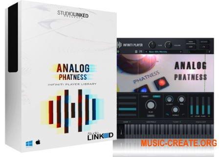 StudioLinked Infiniti Expansion Analog Phatness WiN (DECiBEL) - библиотека басовых звуков