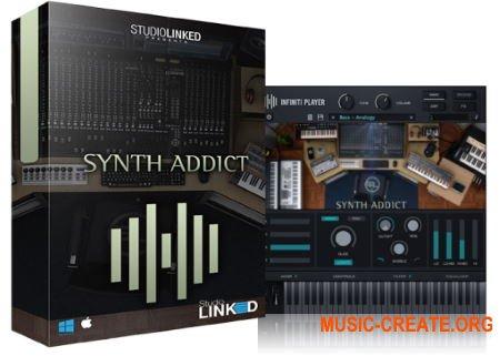 StudioLinked Infiniti Expansion Synth Addict WiN (DECiBEL) - библиотека звуков синтезаторов