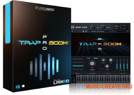 StudioLinked Infiniti Expansion Trap Boom Library WIN (DECiBEL) - библиотека Trap